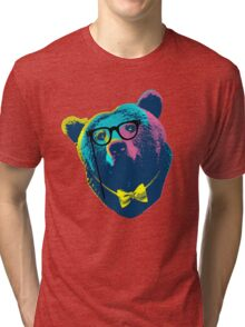 Pop Art I (Papa Bear) Tri-blend T-Shirt