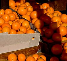 O is for Orange by John Heil