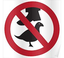 Don't Step on the Birds Poster