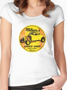 Milner's Speed Shop Women's Fitted Scoop T-Shirt