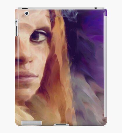 Irisa at the wedding iPad Case/Skin