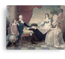 George Washington and His Family Canvas Print