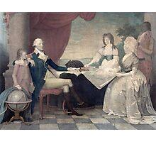 George Washington and His Family Photographic Print