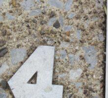 24 on the ground Sticker