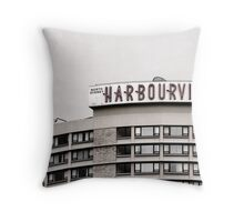 Urban Signs - Harbourview Throw Pillow