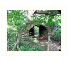 ancient fortifications Art Print