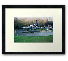 spitfire supermarine Mk 1 Framed Print