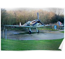 spitfire supermarine Mk 1 Poster