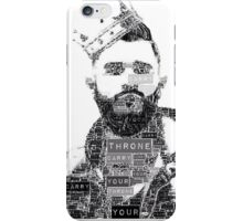 Carry Your Throne-Jon Bellion (Re-edited) iPhone Case/Skin