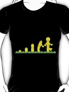 Build Block Walk of Evolution T-Shirt