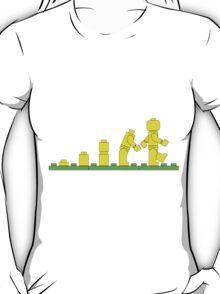 Build Block Walk of Evolution T-Shirt