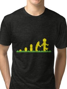 Build Block Walk of Evolution Tri-blend T-Shirt