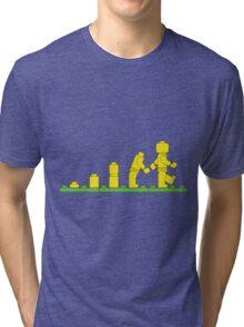 Build Block Walk of Evolution Tri-blend T-Shirt