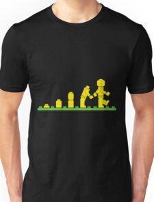 Build Block Walk of Evolution Unisex T-Shirt
