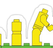 Build Block Walk of Evolution Sticker