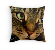 Not now I'm busy Throw Pillow
