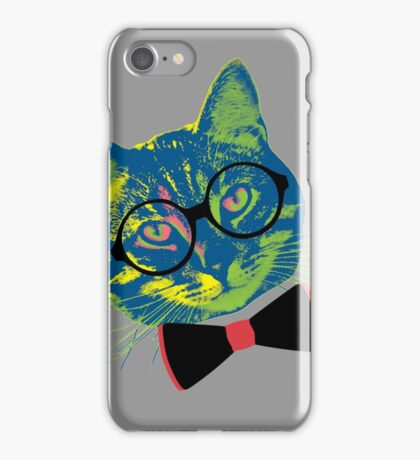 Pop Art III (Cool Cat) iPhone Case/Skin
