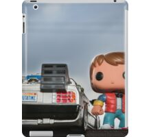 Outatime with Marty McFly iPad Case/Skin