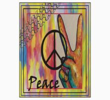 Peace in Every Color Kids Clothes