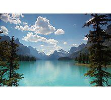 Maligne Lake, Jasper National Park, Canada Photographic Print