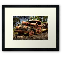 Collaboration ~ On overload No 2 Framed Print