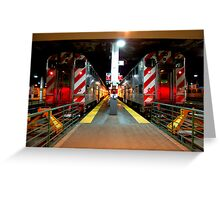All Aboard... Greeting Card