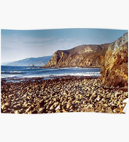 The Beach at Cambria Poster