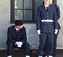 förbereder för bevakning plikt by Ranald