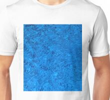 Blue Water - Color Movement and Reflection Unisex T-Shirt