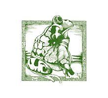 Frog, Profile Photographic Print