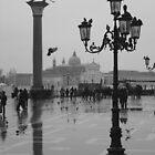 Rainy day in Venice by Nicholas Averre