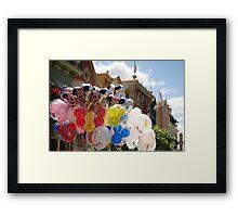 Disney Balloons  Framed Print