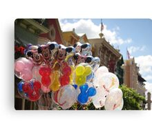 Disney Balloons  Canvas Print