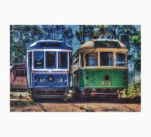Twin trams Kids Tee