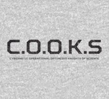 C.O.O.K.S. Cybernetic Operational Optimized Knights of Science T-Shirt