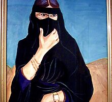 Bedouin Woman by Rusty  Gladdish