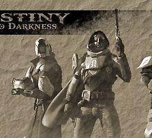 Destiny Into Darkness by rampagegraphics