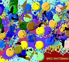 ( PEOPLE ARE CRAZY ) ERIC WHITEMAN ART by eric  whiteman