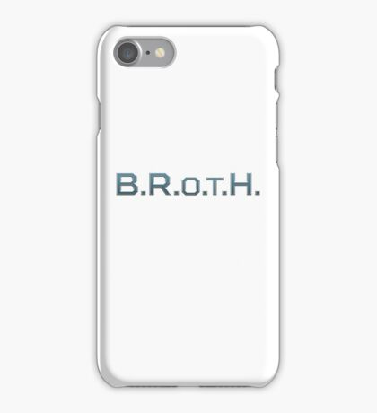 B.R.O.T.H. Beast Rebels of the Hellscape iPhone Case/Skin