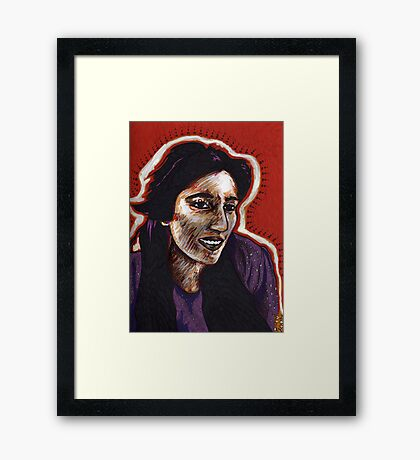 The Courage of Benazir Bhutto Framed Print