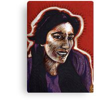 The Courage of Benazir Bhutto Canvas Print