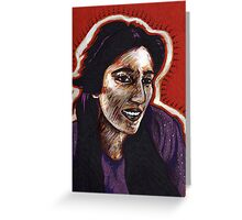 The Courage of Benazir Bhutto Greeting Card