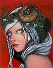 Hel Mother of Krampus  by Laurie McClave