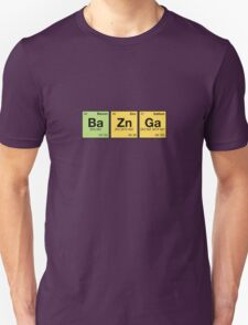 Ba Zn Ga! - periodic elements scrabble T-Shirt