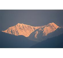 Kanchenjunga from Yoksum Photographic Print
