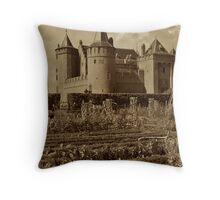 Medieval Majesty Throw Pillow