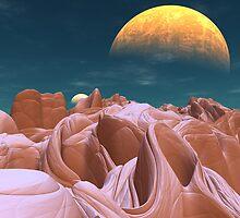 The Bizarre Canyons of Azira by Graham Conrad
