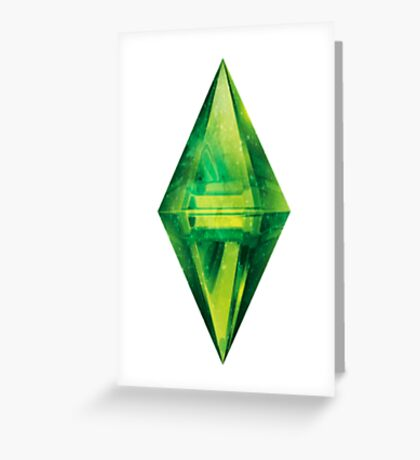 Sims: Space Greeting Card