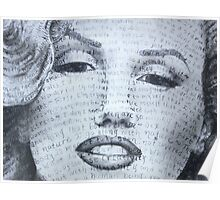 Marilyn detail Poster