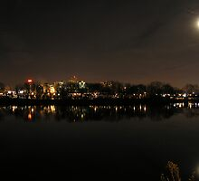 Harrisburg After Dark by James Wheeler
